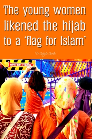 Hijab as a flag for Islam