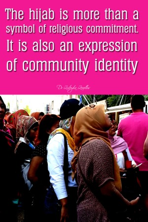 Hijab as a symbol of community