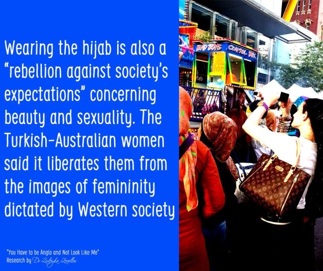 Hijab liberation from Western ideals