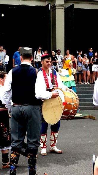 Folk musicians at the Polish Festival, Melbourne, 2015