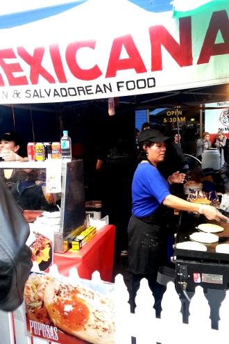Spanish Festival, 2013, Mexicana food