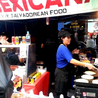 Spanish Festival, 2013, Mexicana food