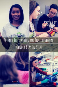 Science Fellowships and Institutional Bias