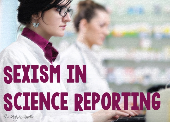 Sexism in Science Reporting
