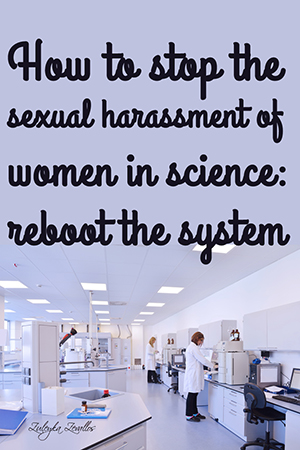 Sexual harassment in science