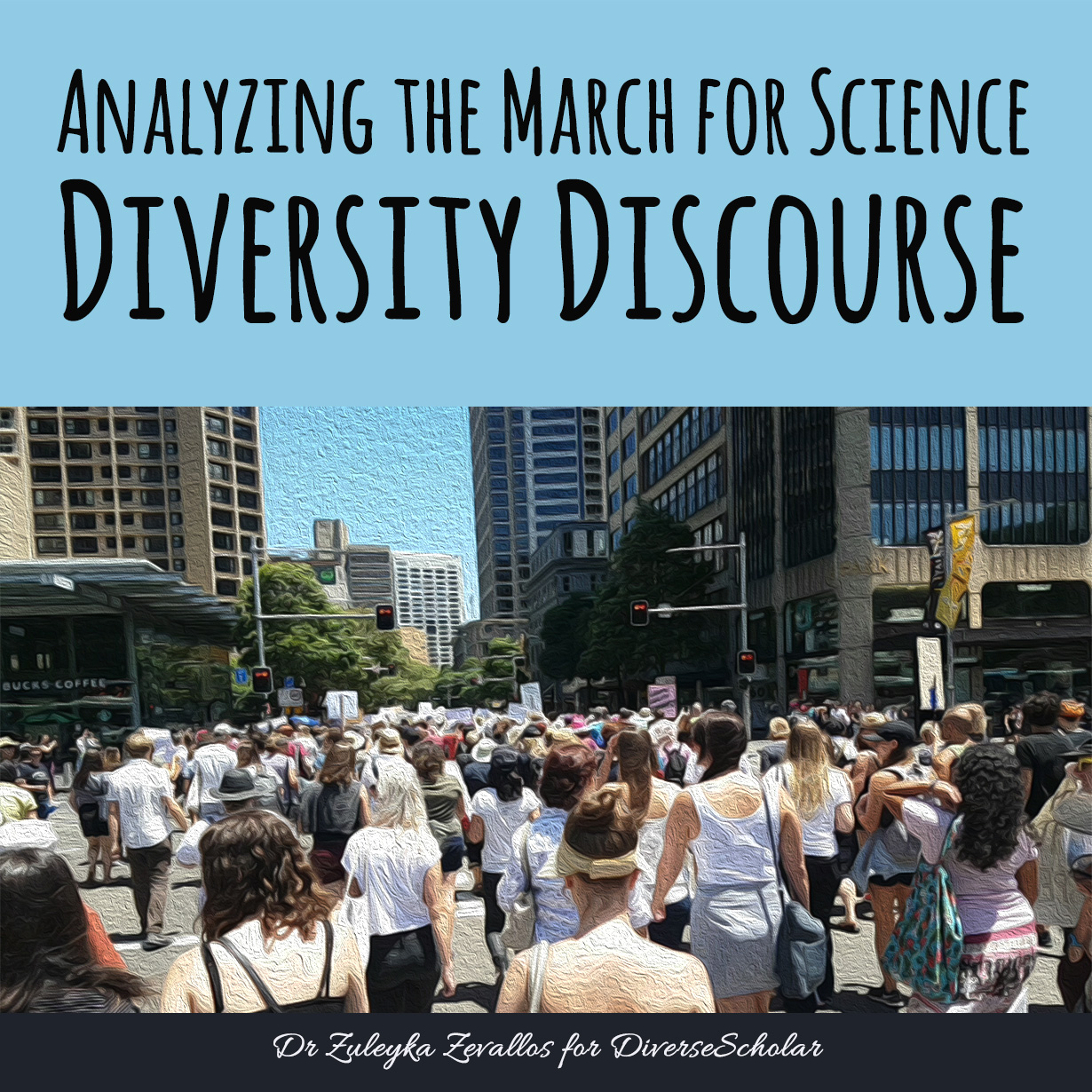 Analyzing the March for Science Diversity Discourse